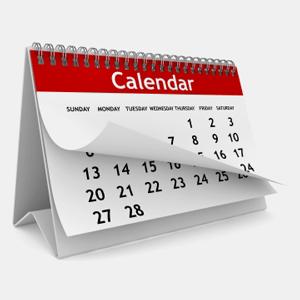 Personal Finance Calendar