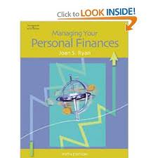 Effective managing your personal finances